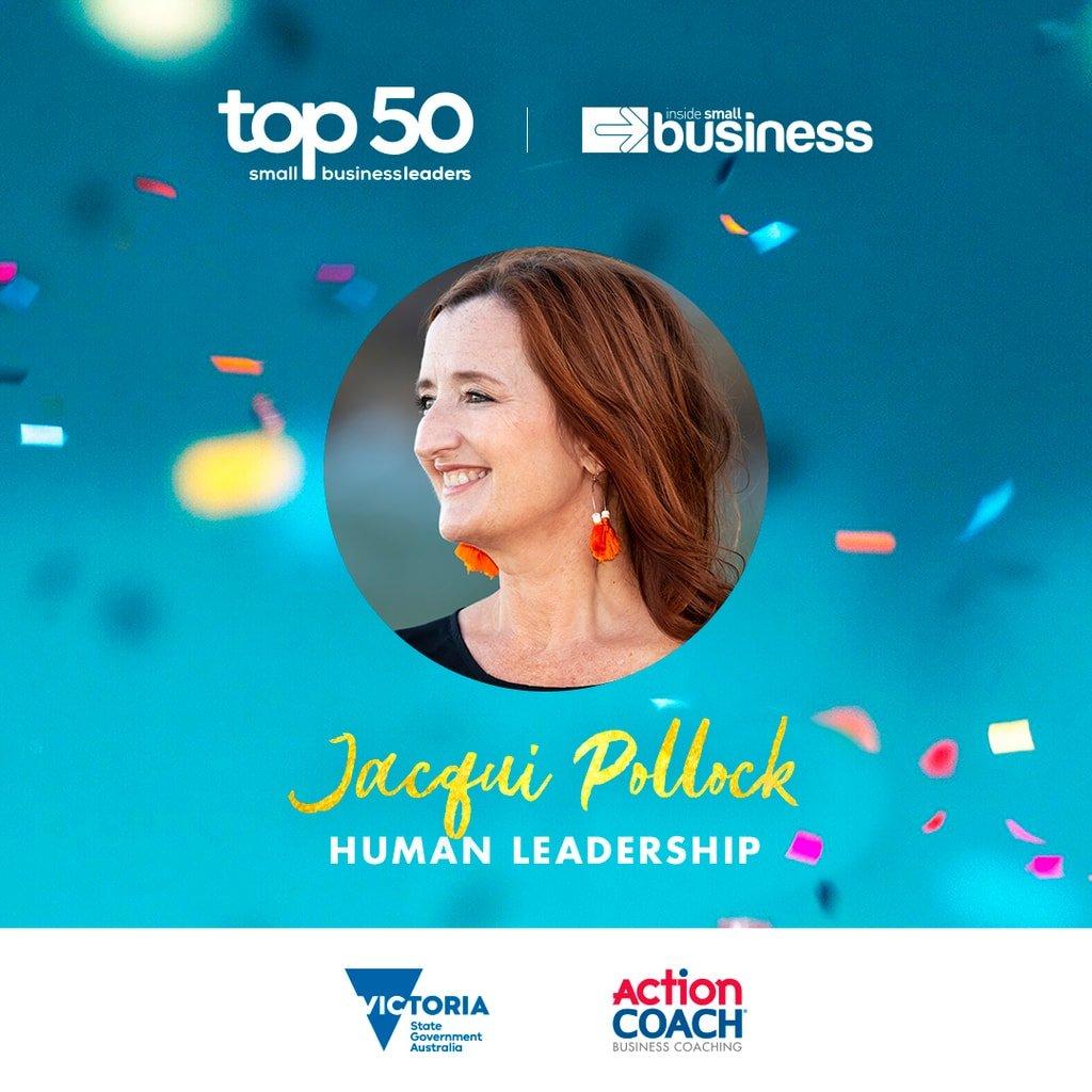 Inside Small business Top 50 award winner